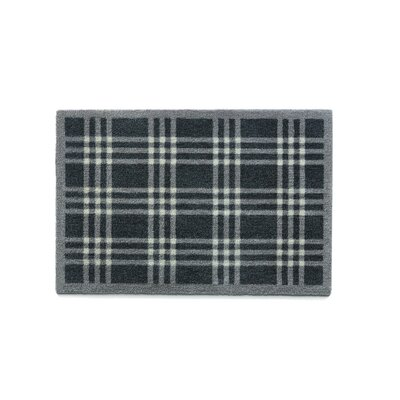 Muddle Mat Check Doormat Rug Size: Rectangle 18 x 26
