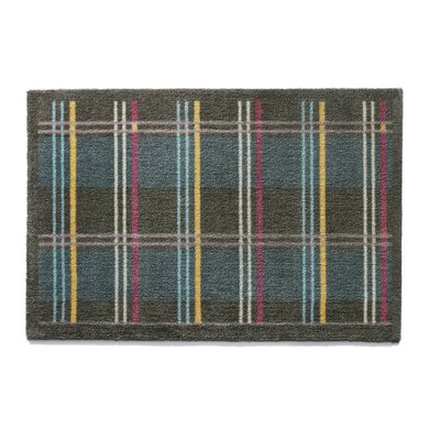 Muddle Mat Check Doormat Mat Size: Rectangle 18 x 26