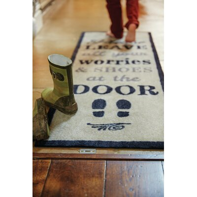Muddle Mat Word Doormat Rug Size: Runner 18 x 411