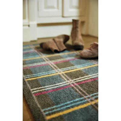 Muddle Mat Check Doormat Mat Size: Runner 18 x 411