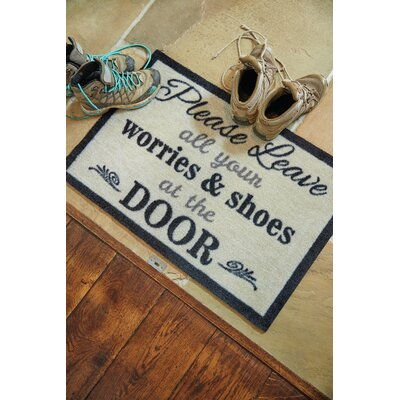 Muddle Mat Word Doormat Rug Size: Rectangle 18 x 26