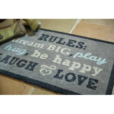 Muddle Mat Word Doormat Mat Size: Rectangle 18 x 26