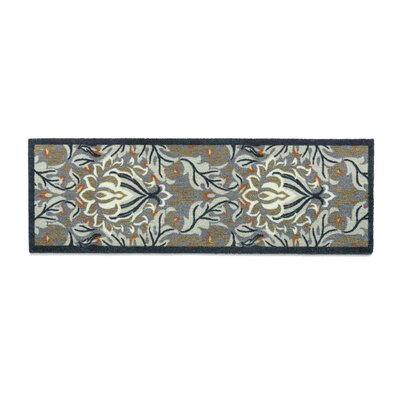 Muddle Mat Floral Doormat Rug Size: Runner 1'8 x 4'11