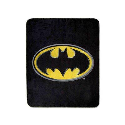 Batman Emblem Luxury Fleece Throw Blanket