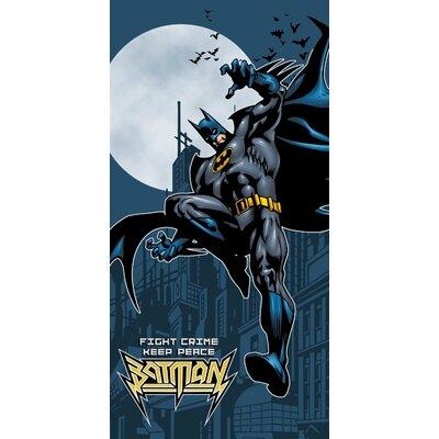 Batman Fight Crime Beach Towel BT00044-2-1