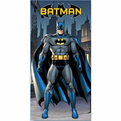 Batman In The City Beach Towel