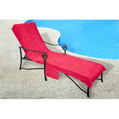 Chaise Lounge Cover Color: Fuchsia