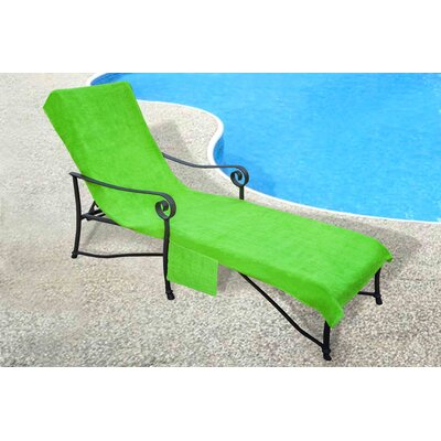 Chaise Lounge Cover Color: Lime Green