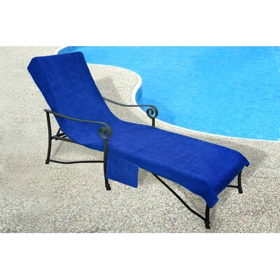 Chaise Lounge Cover Color: Royal Blue