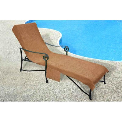 Chaise Lounge Cover Color: Tan