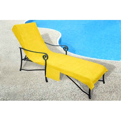 Chaise Lounge Cover Color: Yellow