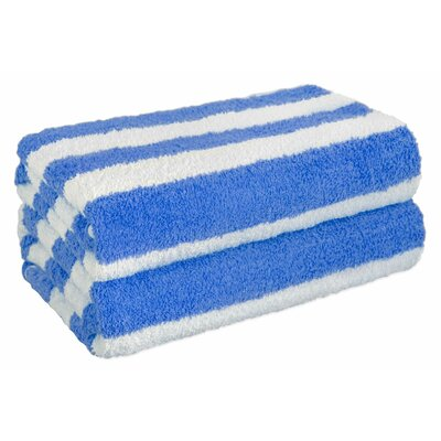 Everyday Special Cabana Beach Towel Set Color: Blue