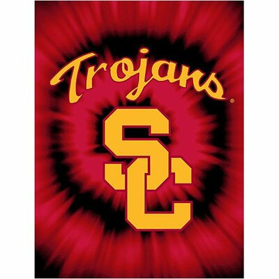 NCAA Team USC Trojans College Throw Blanket