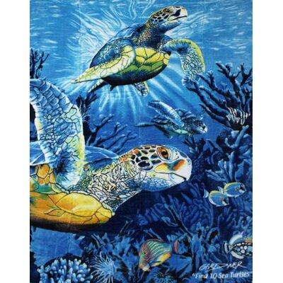 Sea Turtles Mink Blanket