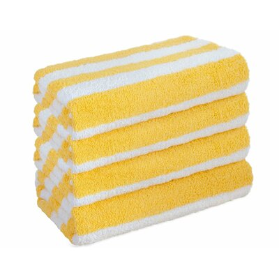 Everyday Special Cabana Towel Set Color: Yellow