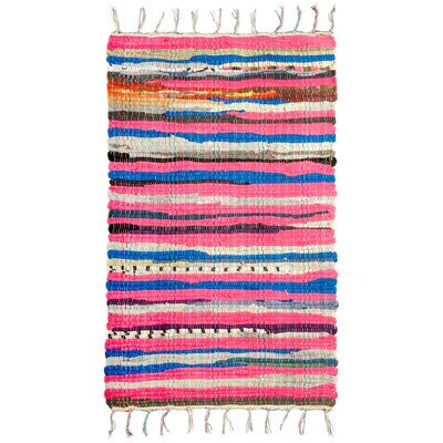 Striped Doormat Rug Size: 2 x 3