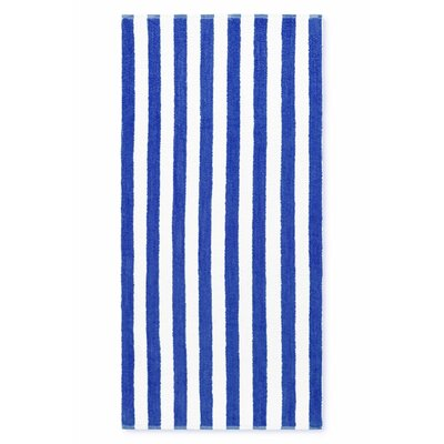 Cabana Stripe Beach Towel Color: Royal Blue