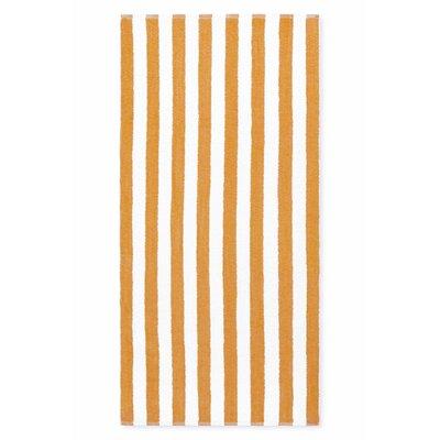 Cabana Stripe Beach Towel Color: Tan
