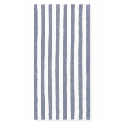 Cabana Stripe Beach Towel Color: Gray