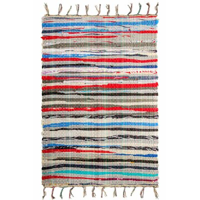 Chindi Doormat Rug Size: Rectangle 26 x 4