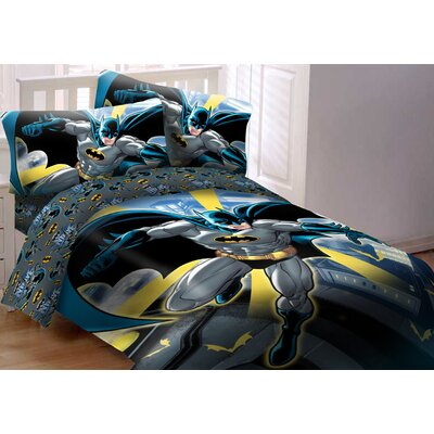 Batman Comforter Set Size: Twin