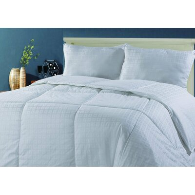 Premium Jacquard Comforter Size: King