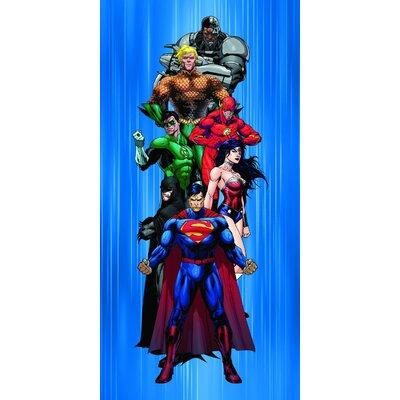 Justice League Heroes Beach Towel