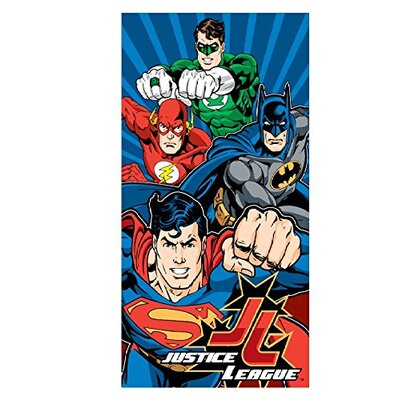 Justice League Power Beach Towel
