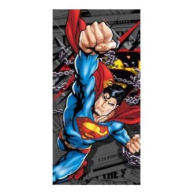 Superman Daily News Beach Towel