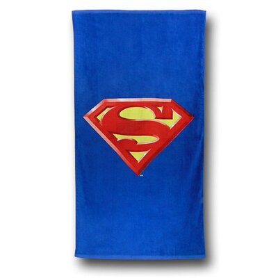 Superman Shield Beach Towel