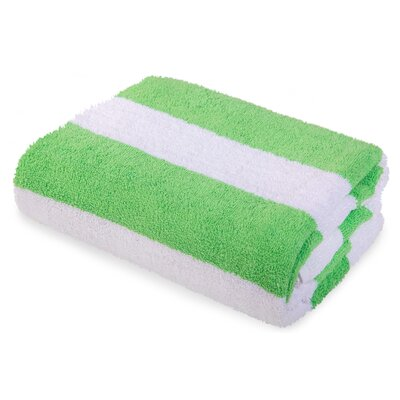Eastfield Beach Towel Color: Green
