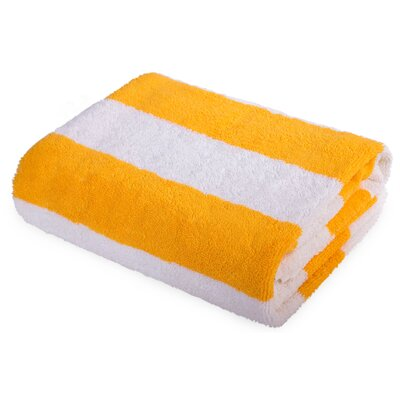 Eastfield Beach Towel Color: Yellow