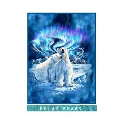 Polar Bears Mink Blanket