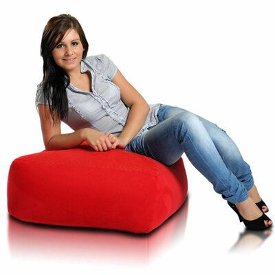 Bean Bag Chair Upholstery: Red