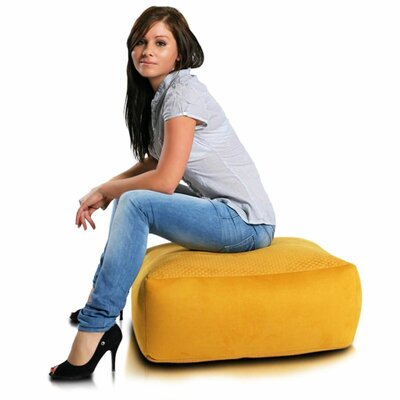 Bean Bag Chair Upholstery: Yellow