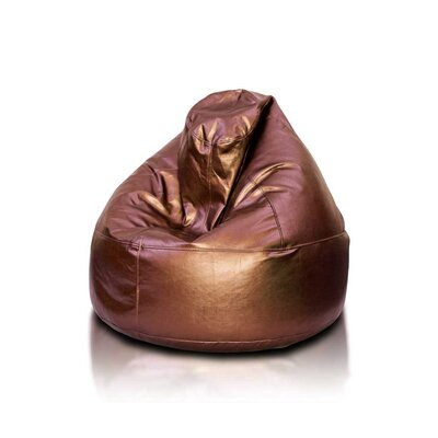 Bean Bag Chair Upholstery: Copper