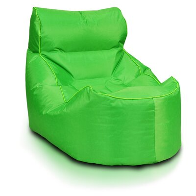 Bean Bag Lounger Upholstery: Green