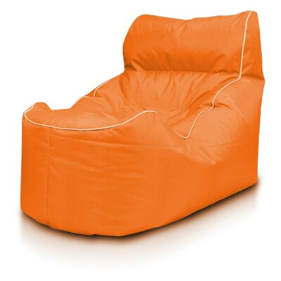 Bean Bag Lounger Upholstery: Orange