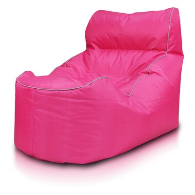Bean Bag Lounger Upholstery: Pink