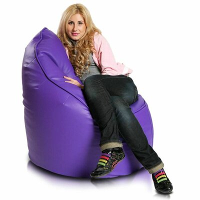 Bean Bag Lounger Upholstery: Violet