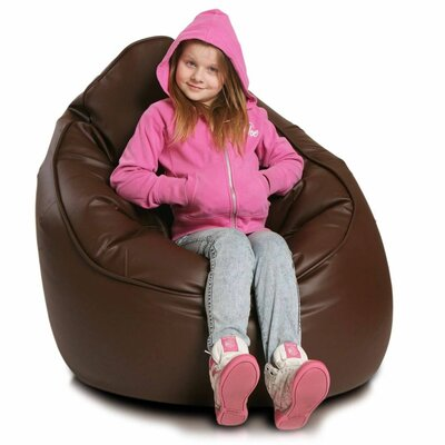 Bean Bag Lounger Upholstery: Light Brown