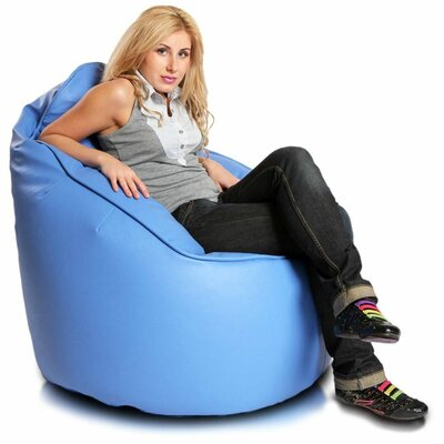 Bean Bag Lounger Upholstery: Sky