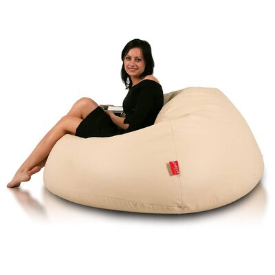 Bean Bag Chair Upholstery: Beige