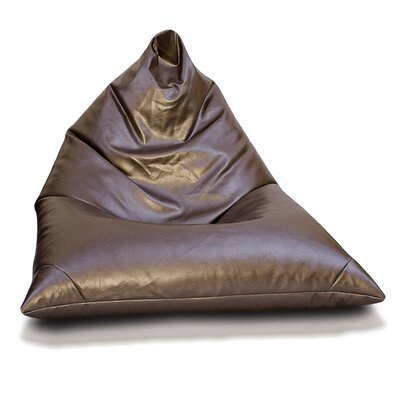 Bean Bag Lounger Upholstery: Bronze