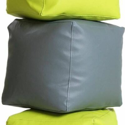 Bean Bag Set (Set of 2) Upholstery: Lime