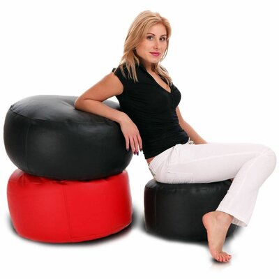 Bean Bag Chair Color: Red
