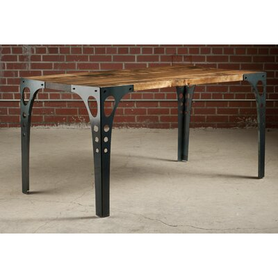 Dinning Table Base Finish: Raw Steel