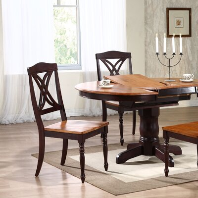 Butterfly Solid Wood Dining Chair Finish: Whiskey / Mocha