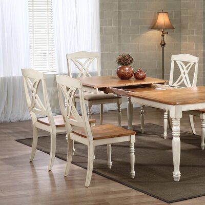 Butterfly Solid Wood Dining Chair Finish: Caramel / Biscotti