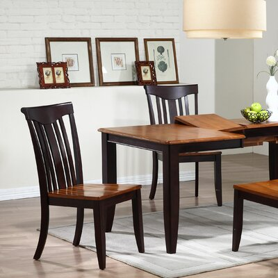 Modern Solid Wood Dining Chair Finish: Whiskey / Mocha